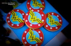 Wonder Woman themed birthday party with Lots of Really Cute Ideas via Kara's Party Ideas! full of decorating ideas, decor, desserts, cakes, favors, printables, games, and MORE! KarasPartyIdeas.com #wonderwoman #wonderwomanparty #superhero #partyideas #partydecor #partyplanning #eventstyling (22)