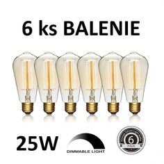 Zvýhodnené balenia žiaroviek Edison Lighting, Packing Light, Light Bulb, Led, Retro, Vintage, Home Decor, Decoration Home, Room Decor
