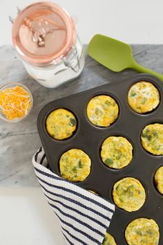 Ranch Broccoli Mini Frittatas