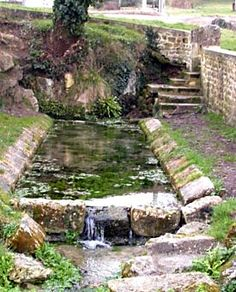 Fontaine lavoir, Barbara, St-Savinien sur Charente. au lieu-dit Barbara