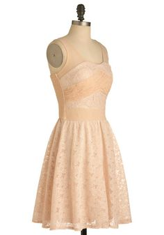 Pale Pink Posies Bridesmaid Dress, #ModCloth -- bridesmaid dress for meghans wedding?? @Meghan Murray