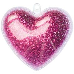 10 x Clear Hanging Heart Ornaments - PERFECT FOR MOTHER'S DAY