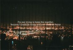 Beside You- Marianas Trench