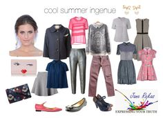 """""""cool summer ingenue"""" by expressingyourtruth ❤ liked on Polyvore"""