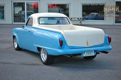 Nice job! - '51 Studebaker 327 V8 pickup conversion