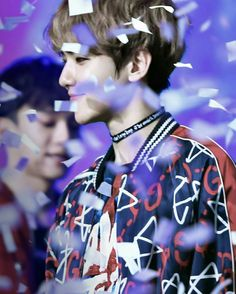 Cre on pic, do not edit_ChumChum Baekhyun, 26th Seoul Music Awards, Puppy Face, Exo Members, Chanbaek, Bigbang, Boy Bands, Bacon, Kpop Boy