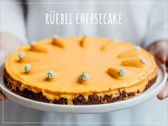 Try Carrot cheesecake by FOOBY now. Or discover other delicious recipes from our category desserts. Carrot Cake Cheesecake, Lemon Cheesecake, Biscuits, Bon Dessert, Snacks Sains, Zucchini Cake, Salty Cake, Cake Tins, Savoury Cake