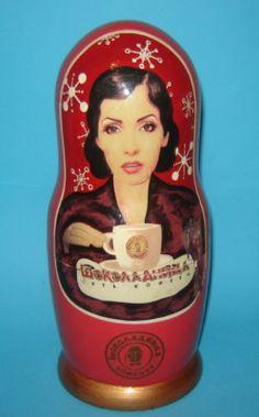 Russian Nesting Doll Bottle Coffee Chocolate Holder | eBay