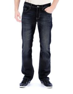 Buffalo David Bitton King Slim Boot-Cut Jeans Men's Indigo 38X32