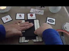 Valentine's Waterfall Card Tutorial