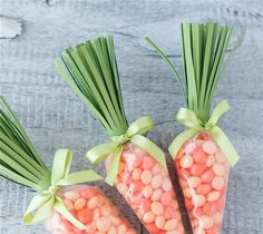 Carrot Treat Bags. Make It Now with the Cricut Explore machine in Cricut Design Space.