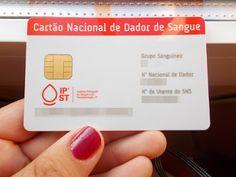 LITORAL CENTRO - COMUNICAÇÃO E IMAGEM: Cartão Nacional de Dador de Sangue