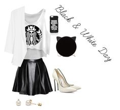 """""""Black and White"""" by lala9867 ❤ liked on Polyvore"""