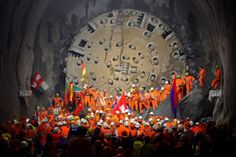 Inaugurado o mais longo túnel ferroviário do mundo. E é na Europa - PÚBLICO