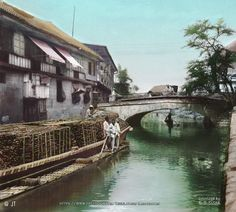 """Escolta Bridge and Canal, Manila, Philippines, late 19th or early 20th Century"" Image source: H. C. White Company @ John Tewell Colorized by E.S.Sison"