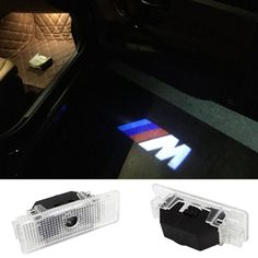 2 Laser LED Door Courtesy projector Shadow Light For BMW E39 E53 x5