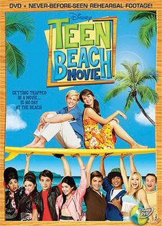 Two teen surfers are magically transported into an old-school 1960s beach flick in Teen Beach Movie. Audiences of all ages will love the music, dancing and nostalgia as Brady and Mack try to save the day and make their way back home. Including behind-the-scenes footage and bonus features, Disney Channel's Teen Beach Movie is available now.