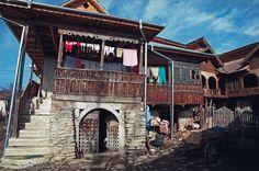 Casa de pe bancnota de 10 lei, Chiojdu, Buzau