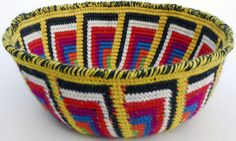 Tapestry Crochet Basket