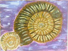 #Amazingammonites-A crusty looking spiral of grooved stone comprises these precious catherine wheel fossils. When gardening, I found these as I dug with a spade.  https://evetactileart.patternbyetsy.com/
