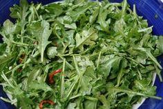 Rucula, arugula, rugula o rucola Vinaigrette, Arugula Salad, Seaweed Salad, Salad Recipes, Spinach, Avocado, Salads, Cooking Recipes, Tasty
