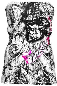 Metal Mulisha Jaina Women's Tube Top, £27.99    http://www.attitudeclothing.co.uk/product_32298-61-2187_Metal-Mulisha-Jaina-Women%27s-Tube-Top.htm