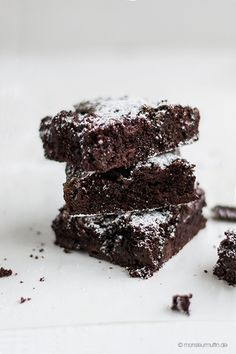 super-chocOlate brownies with salted caramel and sour cherries