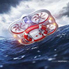 Rescue drone on Behance