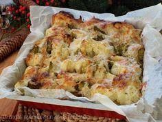 Contorno broccolo, patate e scamorza sono un'accoppiata davvero vincente, dall'aspetto gustoso e che stuzzica in modo generoso il vostro appetito..