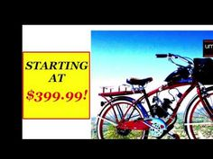 MOTORIZED BIKE KIT FOR SALE
