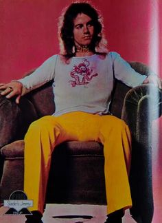 Jim Lea - pic Fan Magazine 70's Slade Band, Noddy Holder, Magazine, Fan, Rock, Style, Fashion, Stone, Moda