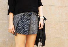 Plan B anna evers DIY wrap scarf short front