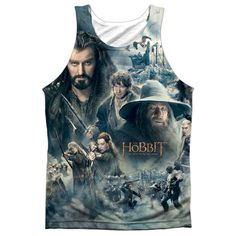 "Checkout our #LicensedGear products FREE SHIPPING + 10% OFF Coupon Code ""Official"" Hobbit/epic Poster (front/back)-adult 100% Poly Tank T- Shirt - Hobbit/epic Poster (front/back)-adult 100% Poly Tank T- Shirt - Price: $24.99. Buy now at https://officiallylicensedgear.com/hobbit-epic-poster-front-back-adult-100-poly-tank-shirt-licensed"