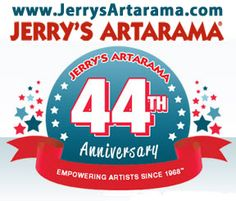 Jerry's Artarama is celebrating its 44th year in the art supplies and materials business! Help them celebrate and you could win up to a $500 JERRY'S SHOPPING SPREE!  Go to the original post and repin it for your chance to win!  Winner announced April 30, 2012.    The winner will receive: $100 e-gift card if they reach 100 pins, $250 eGC at 500 pins, $350 eGC at 1000 pins, or  $500 eGC if they get 2000 pins!
