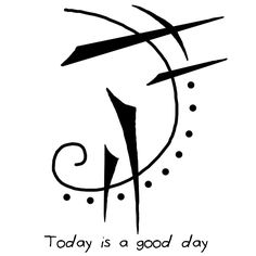 "Sigil Athenaeum - ""Today is a good day"" sigil ""I have good luck"". Cool Symbols, Wiccan Symbols, Good Luck Symbols, Magic Symbols, Symbols And Meanings, Wiccan Spells, Witchcraft, Viking Symbols, Viking Runes"