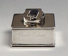 Inkstand, Traveling - Charles Dickens