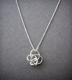 Petite Twist Necklace -Silver | Women's Jewelry | Simple Twist Jewelry | Scoutmob Shoppe | Product Detail
