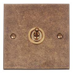 Pack de 5 1 Gang 2 Way Blanc 10 Amp Architrave Plaque Interrupteur