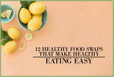 12 Healthy Food Swaps That Make Healthy Eating Easy 9 Graphs That Will Turn You Into an Interior Decorating Genius Fast Weight Loss Tips, Healthy Weight Loss, How To Lose Weight Fast, Healthy Food Swaps, Healthy Eating, Healthy Recipes, Healthy Snacks, Lose 5 Pounds, Metabolic Diet