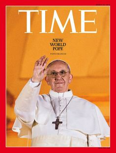 The papal inauguration of Pope Francis is held. | 29 Magazine Covers And Newspaper Front Pages Show What Life Was Like In 2013