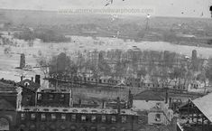 Richmond, Virginia. Ruins of State Arsenal and Richmond & Petersburg Railroad bridge. Date Created/Published: 1865