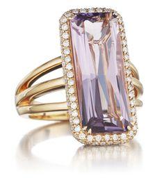 Frivolous Fabulous - Amethyst and Diamonds