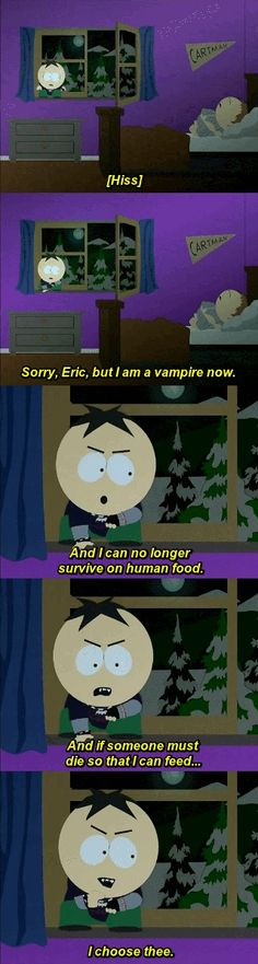 South Park vampire Butters
