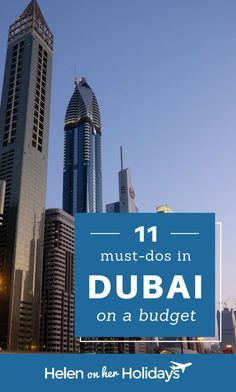 Thinking of visiting Dubai on a budget? Here are 11 ideas for fun things to see and do in Dubai without breaking the bank.