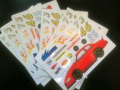 12 MYO Race Car Stickers Teacher Supply Party Supply Teacher Supplies, Party Supplies, Race Car Stickers, Hot Wheels Party, Party Stuff, Classroom Decor, Race Cars, Parties, Racing