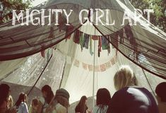 Mighty Girl Art™: Mighty Girl Art at Broadlands Nature Center!