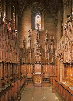 Thistle Chapel in St. Giles Cathedral ~ Edinburgh, Scotland