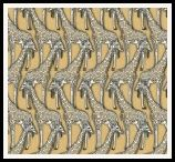 member's free giraffe backing paper pack tan