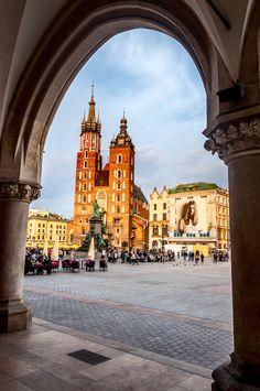 Poland / Krakow / old town - Polska / Kraków / rynek