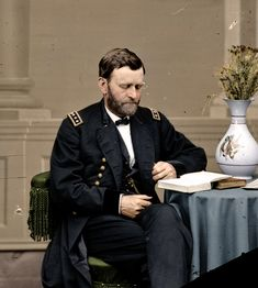 Featured - Ulysses S. Grant Reading   American Civil War Forums